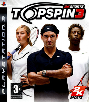 Top Spin 3 sur PS3