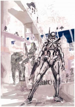Le héros de Vanquish aurait pu être un robot