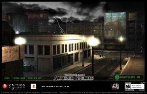 Un site Web pour Vampire Rain : Altered Species
