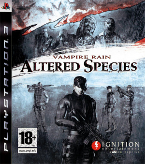 Vampire Rain : Altered Species sur PS3
