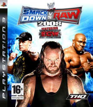 WWE Smackdown vs Raw 2008 sur PS3