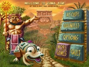 Images de la version PS3 de Zuma