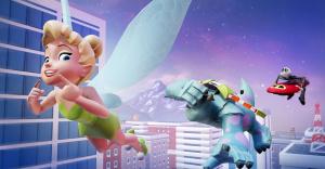 Clochette et Stitch dans Disney Infinity 2.0 : Marvel Super Heroes