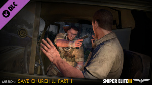 Sniper Elite 3 sauve Winston Churchill