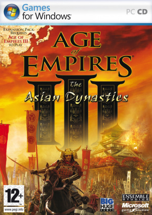 Age of Empires III : The Asian Dynasties sur PC