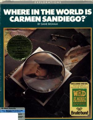 A la Poursuite de Carmen Sandiego dans le Monde