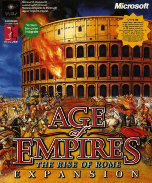 Age of Empires : The Rise of Rome sur PC