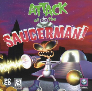 Attack of the Saucerman !
