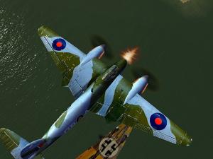 Images : premier combat pour Battle Of Europe