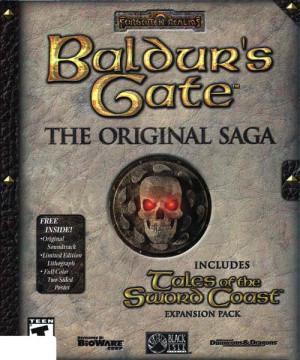Baldur's Gate : The Original Saga sur PC