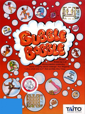 Bubble Bobble sur PC