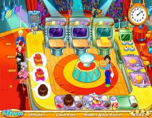 Images : le cake se cuisine en jeu vidéo