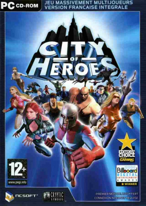 City of Heroes sur PC