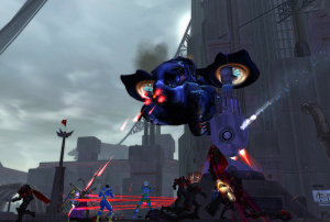 Le nouveau commando de City Of Heroes