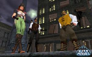 Un pack steampunk pour City of Heroes/Villains
