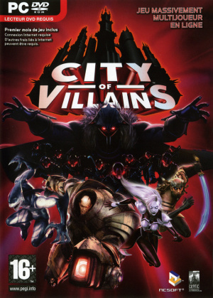 City of Villains sur PC