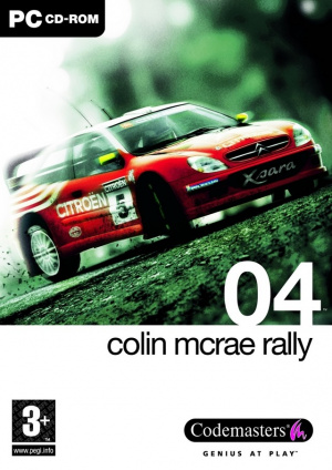 Colin McRae Rally 04 sur PC