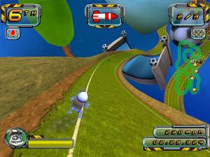 Images : Crazy Frog Racer 2, le retour de l'autre, là...