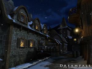 Dreamfall imagé dans la nuit