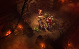 Images de Diablo III : les monstres passent à l'attaque