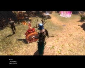 Images : Dawn Of Magic marchande et range ses affaires