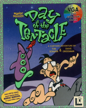Jaquette de Day of the Tentacle