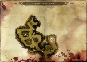 Solution complète : 2 - Les terres sauvages de Korcari