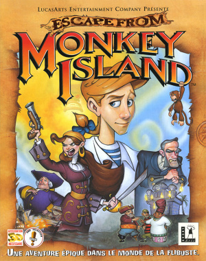 Escape from Monkey Island sur PC
