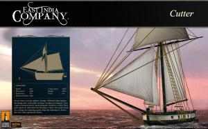East India Company hisse la grand-voile