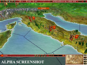 Europa Universalis : direction Rome