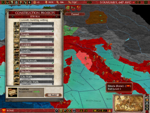 Images : Europa Universalis Rome