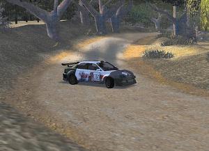 Euro Rally Champion tourne dans la poussière