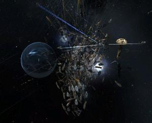 2.800 joueurs s'affrontent sur EVE Online