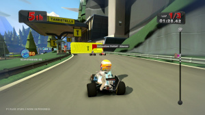 GC 2012 : Images de F1 Race Stars