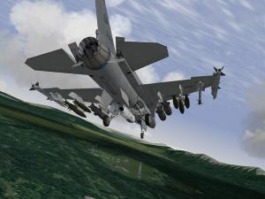 Falcon 4.0 Allied Force zèbre le ciel