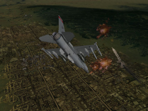 SdLL et Graphic Simulation ensemble sur Falcon 4.0 : Allied Force