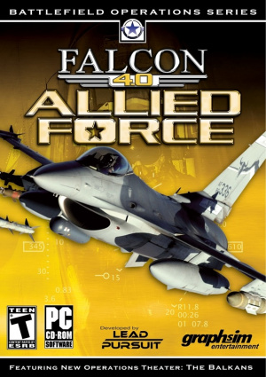 Falcon 4.0 : Allied Force sur PC