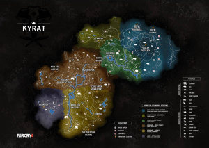 La carte de Far Cry 4 a fuité