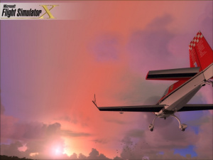 Flight Sim X au salon de la simulation