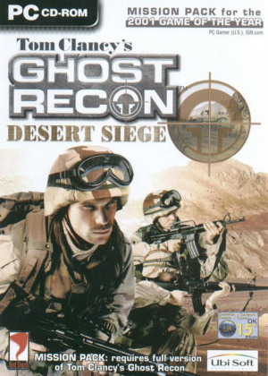 Ghost Recon : Desert Siege sur PC