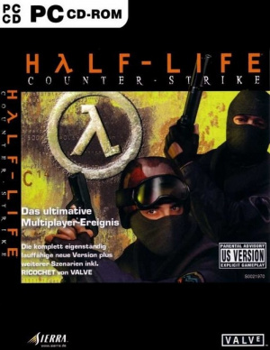 Jaquette de Half-Life : Counter-Strike