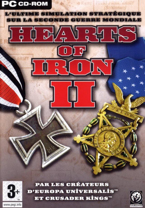 Hearts of Iron II sur PC