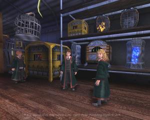 Harry Potter : des images d'Azkaban