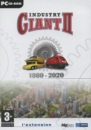Industry Giant II : 1980 - 2020 sur PC