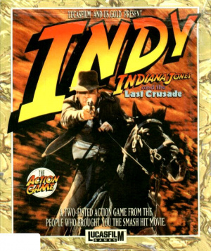 Indiana Jones and the Last Crusade : The Action Game sur PC