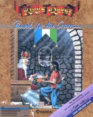 King's Quest : Quest for the Crown sur Apple 2