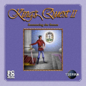 King's Quest II : Romancing the Throne sur Apple 2