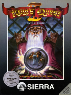 King's Quest III : To Heir is Human sur PC