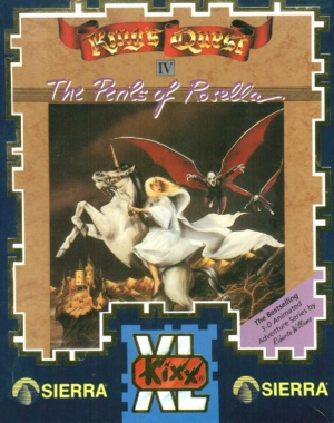 King's Quest IV : The Perils of Rosella sur PC