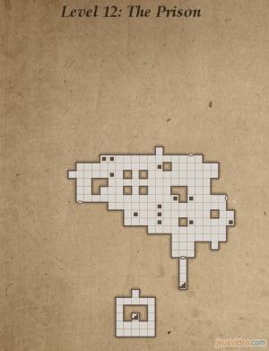 Solution complète : Niveau 12 - The Prison